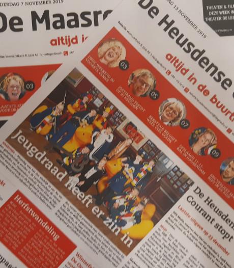 Brievenbus kleppert straks niet meer voor Heusdense Courant en De Maasroute