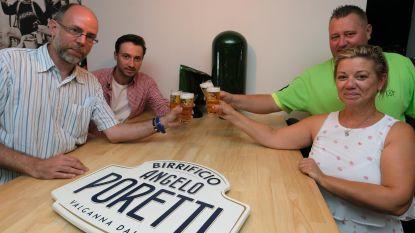 """Eet- en bierhuis Souffleur tapt als eerste Kortrijkse horecazaak Poretti: """"Een frisse Italiaanse luxepils"""""""