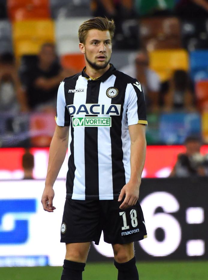 Hidde ter Avest krijgt de tijd om te rijpen bij Udinese. Hij zit steeds bij de wedstrijdselectie, maar wacht nog op zijn debuut.