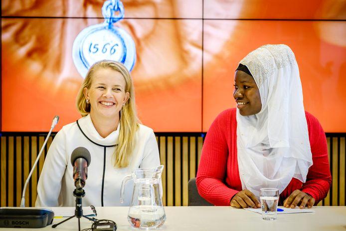 Prinses Mabel van Oranje neemt deze week de Geuzenpenning 2018 in ontvangst. Ze is voorzitter van Girls Not Brides.