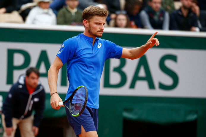 Premier test franchi avec mention pour David Goffin à Paris.