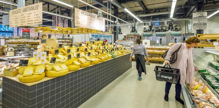 Marqt verkoopt duurzame, verse, biologische en lokale producten. De supermarktketen, die nog nooit winst maakte, zoekt een koper.  Beeld null