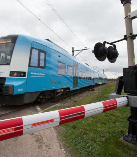 Werkzaamheden aan Valleilijn: komend weekend rijdt de trein maar eenmaal per uur