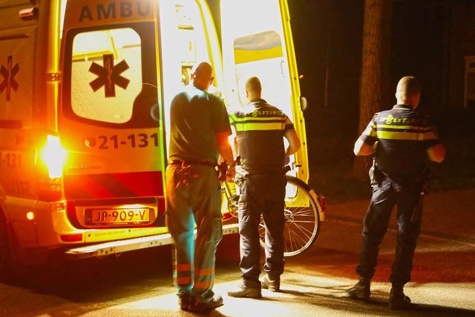 Fietser gewond bij ongeluk in Oss.