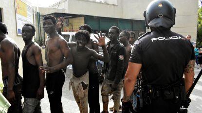 Minstens 115 migranten bestormen Spaanse exclave in Noord-Afrika