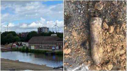 Bom ontdekt op werf voor nieuwe Zennebrug in Halle: Winkels in de buurt uit voorzorg ontruimd