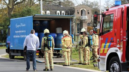 Video: truck vol drugsafval gevonden in Zonhoven