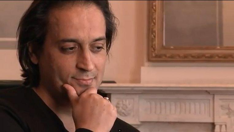 Schrijver Hafid Bouazza. Beeld YouTube