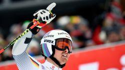 Zuurstofmasker kost Duitse skiër eerste WB-zege in reuzenslalom
