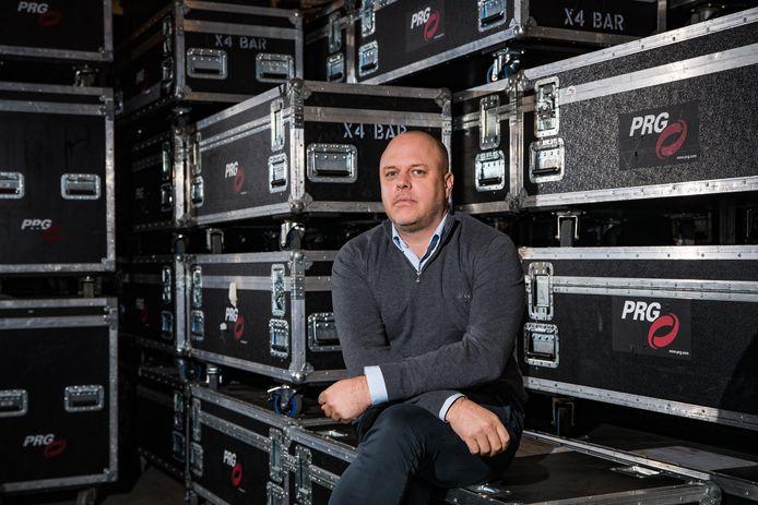 CEO Tom Van Hemelrijck van PRG