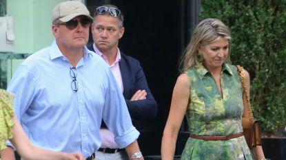 IN BEEELD. Nederlands koningspaar shopt incognito in New York