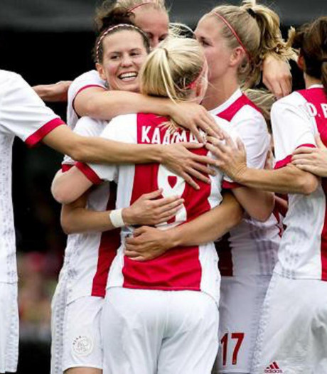 Voetbalsters Ajax naar Champions League