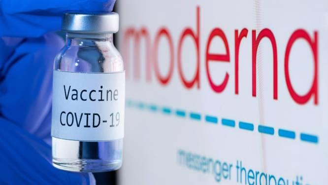 Moderna levert dit jaar nog 20 miljoen coronavaccins aan VS