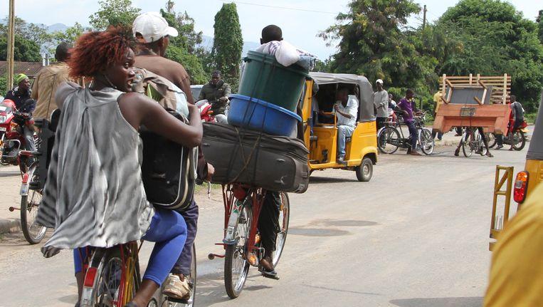 Ook in Burundi vluchten veel mensen voor het geweld.