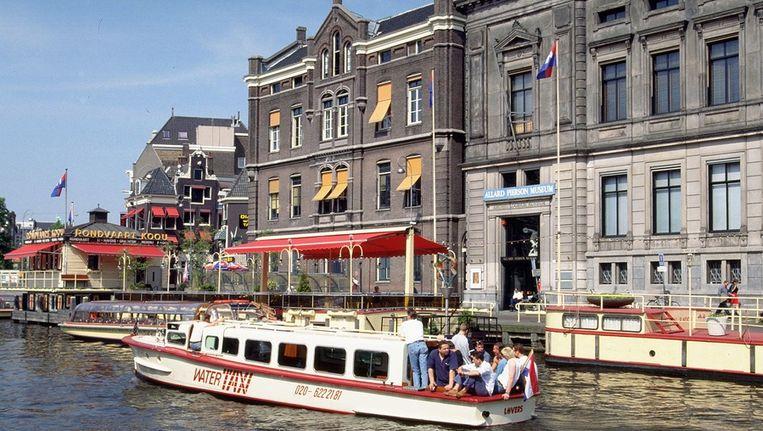 Het Allard Pierson Museum in Amsterdam waar momenteel een tentoonstelling over de Krim te zien is. Beeld ANP