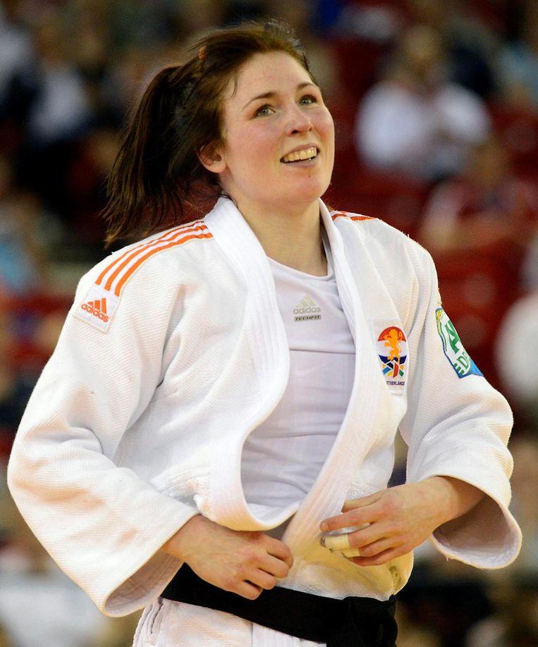 Ook van judoka Kim Polling wordt een gouden medaille verwacht. Beeld epa