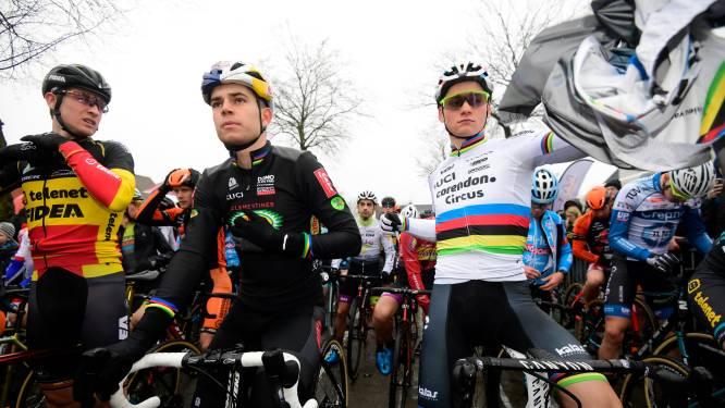 Iedereen moet inleveren, maar hoe zit het met de startgelden van Mathieu van der Poel en Wout van Aert?