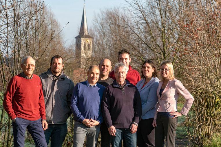 Het gemeentebestuur van Borsbeek.