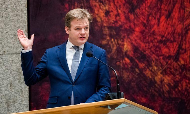 CDA-Kamerlid Pieter Omtzigt meldt zich ook voor het lijsttrekkerschap van het CDA. Beeld ANP/Bart Maat