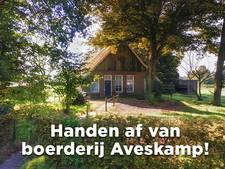 Denekamp in actie tegen sloop van boerderij Aveskamp