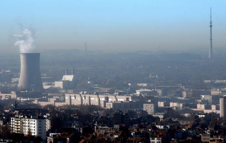 Luchtvervuiling in Brussel, illustratiebeeld.