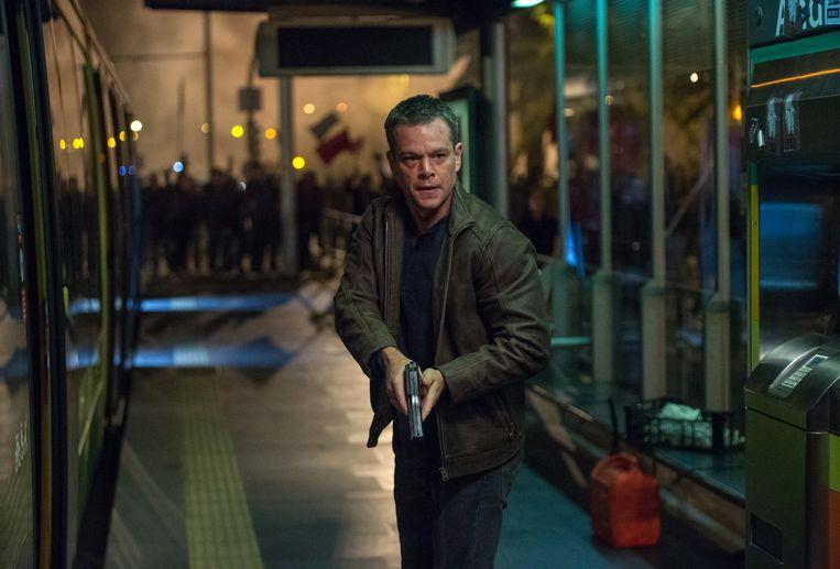 Matt Damon als Jason Bourne.
