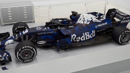 Red Bull stelt als eerste topteam nieuwe F1-bolide voor
