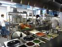 De keuken van Happy Italy.