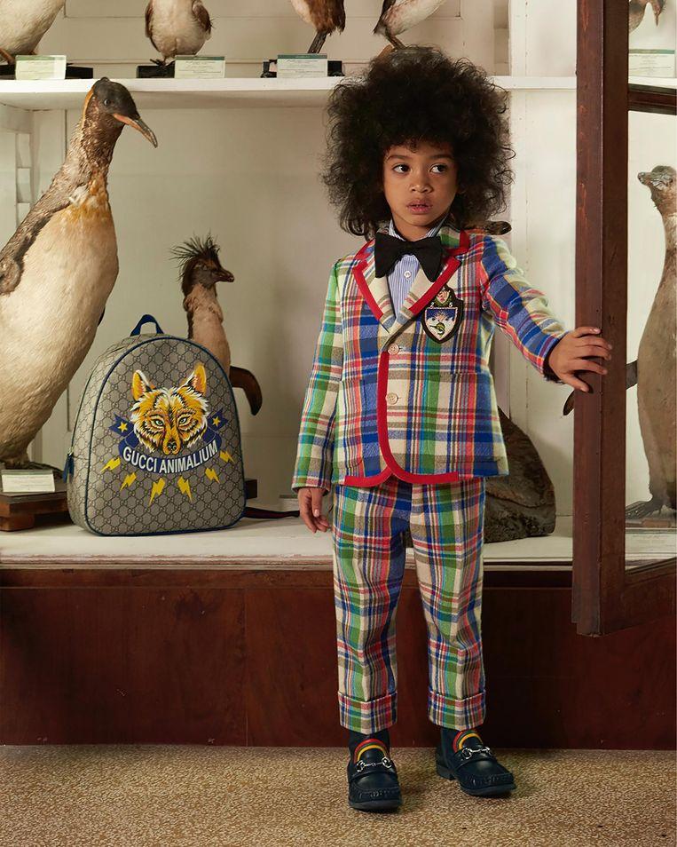 Campagnebeeld van Gucci Beeld Gucci