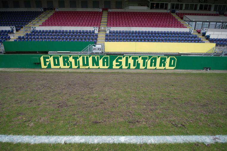 Stadion Fortuna Sittard. Beeld anp