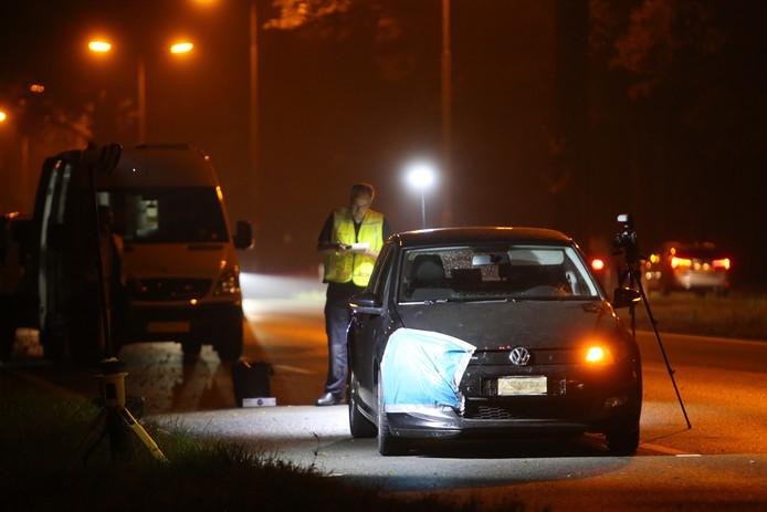 Politie onderzoekt de schietpartij op de N65 bij Haaren