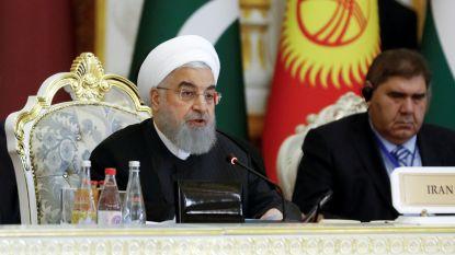 Iraanse leider wil voorlopig niet praten met Trump