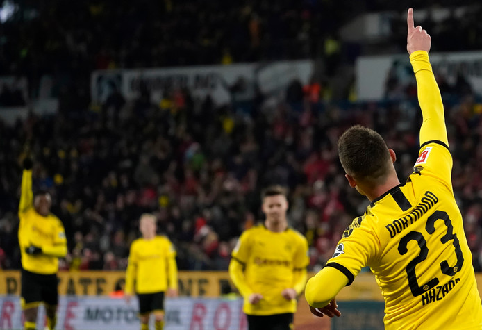 On n'arrête plus Thorgan Hazard à Dortmund.