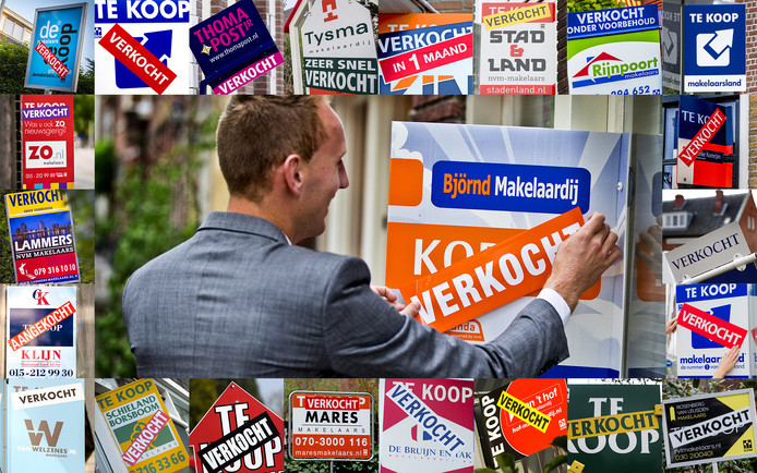 Woningen gaan in de hele regio weg voor recordprijzen.