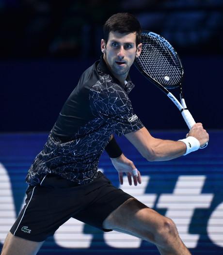 Djokovic wint ook tweede partij op ATP Finals