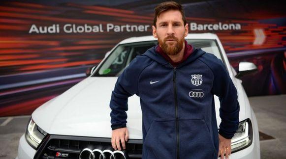 Lionel Messi wou vooral een krachtige bolide.