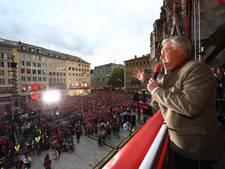 Ancelotti zingt voor Bayern-fans op kampioensfeest