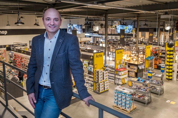 Martijn Geurts, vierde generatie van de bouwmarkten in Bergen en Gennep.
