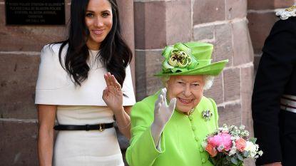 Zo helpt de Britse Queen reputatie van Meghan Markle redden
