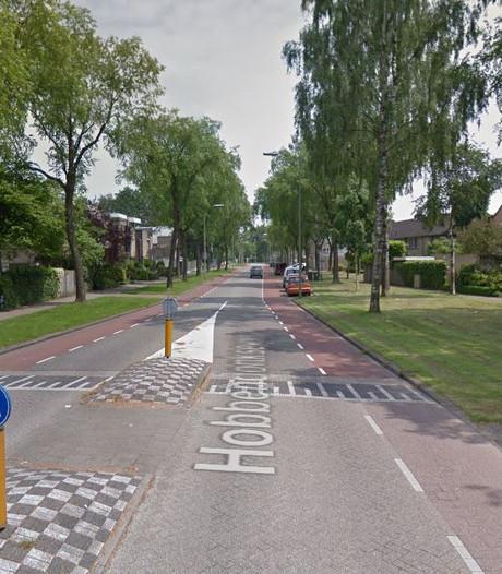 Straatlantaarns Hobbendonkseweg Boxtel werken na dik 'n week weer