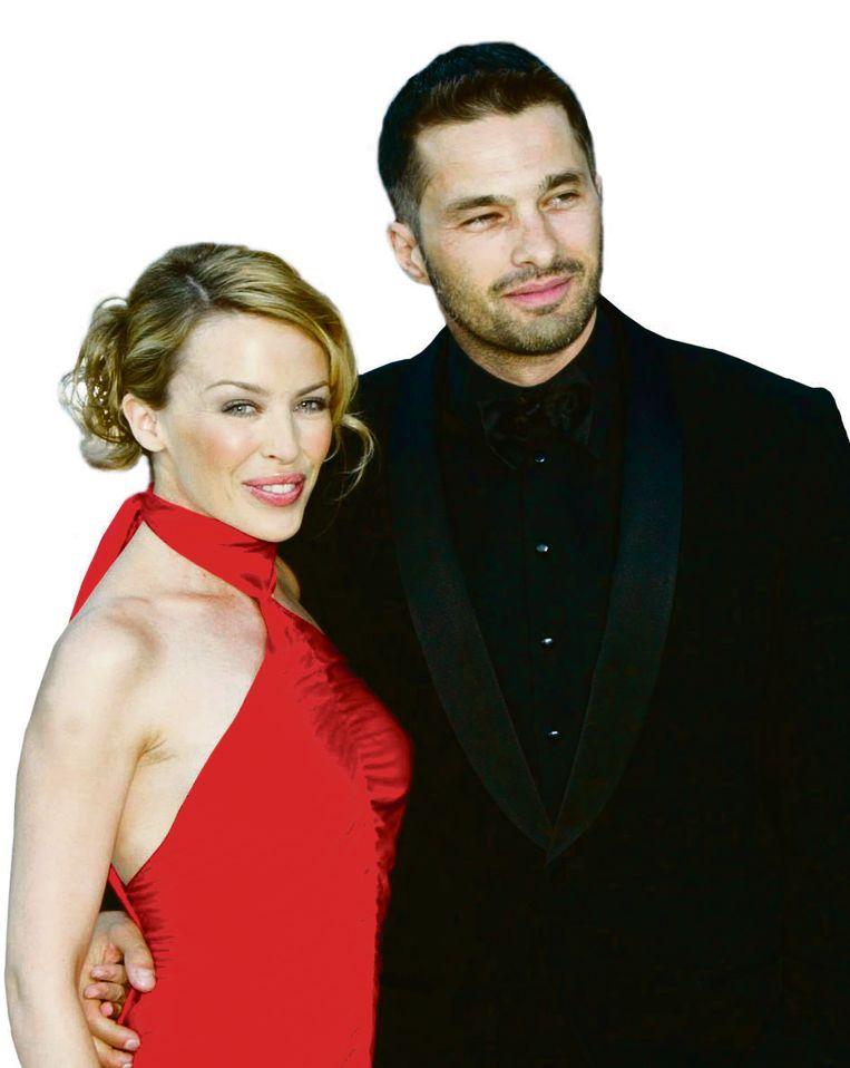 Kylie Minogie en Olivier Martinez