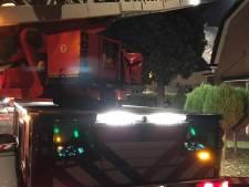 Zolder vliegt in brand in Leersum