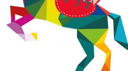 Kleurrijk, abstract en fris: dit is het nieuwe Ros Beiaard-logo