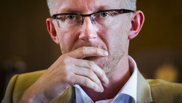 David van Reybrouck, schrijver van het Boekenweekessay Beeld anp