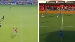 Ziet u het ook? Werelddoelpunt in Nederlandse amateurreeks is exacte kopie van befaamde goal Beckham