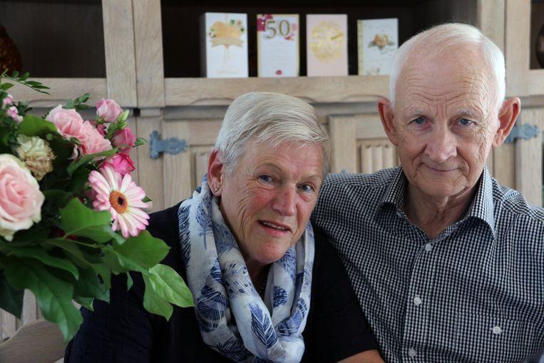 Maria Sneyers en Jacques Stynen zijn 50 jaar getrouwd.