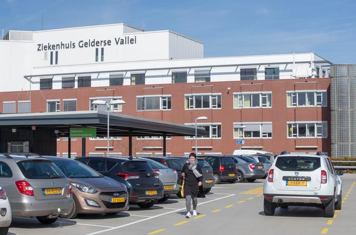 Ziekenhuis Gelderse Vallei in Ede op archiefbeeld.
