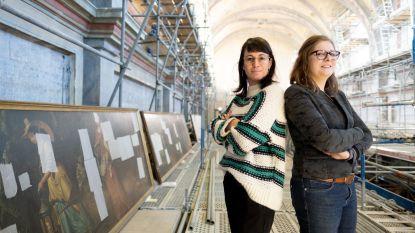Begijnhofkerk krijgt weer kleur: restauratie imposante schilderijen deze week van start