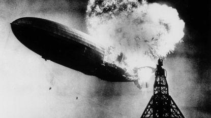 """Laatste overlevende van ramp met zeppelin Hindenburg overleden: """"Maandenlang blind door zware brandwonden"""""""