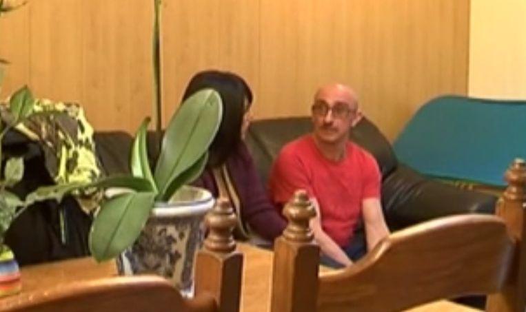 Grootvader Patrick Verdeyen praat met de moeder van Noemi over de ontvoering.